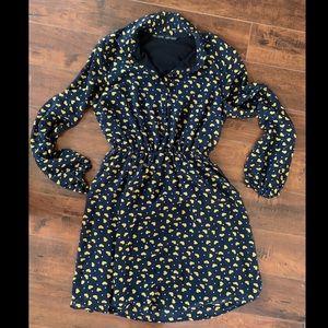 🌟RARE🌟Vintage Zara Mini Dress in Heart Print